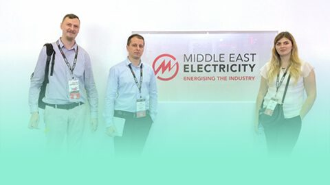 Digital Engineering and Magic Team at Middle East Electricity 2019